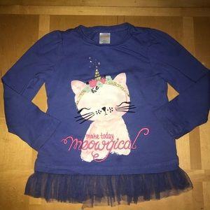 Gymboree Meow-gical Top